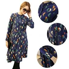 Unbranded Cotton Blend Long Sleeve Shirt Dresses