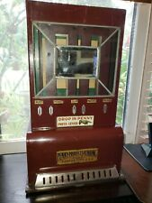 Vintage  Antique 1930s   Penny Products  rare 1 Cent Mints & Gum vending Machine