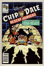 Chip 'n' Dale Rescue Rangers #4 - Sept. 1990 Disney - TV show - Fn/VFn (7.0)