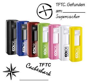 Geocaching Stempel Logbuchstempel Colop Pocket Stamp 20+ Taschenstempel
