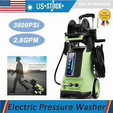 3800 Psi 2.8 Gpm Smart Electric Pressure Washer High Power Surface Cleaner Kit