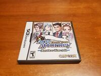 Phoenix Wright: Ace Attorney Justice for All (Nintendo DS, 2007) Complete TESTED