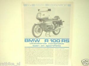 BMW R100RS  ROADTEST