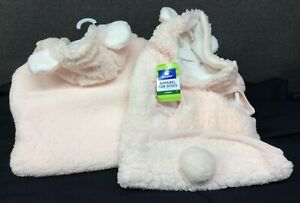 Top Paw Pink Sherpa Bear Hoodie for Dogs~ Choice of L or XL~ NEW W/Tags!
