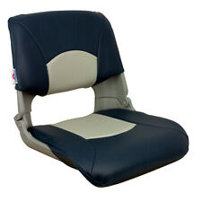 Springfield Skipper Standard Folding Seat - Grey/Blue 1061019