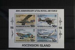 Ascension Block 34 mit 759-762 ** postfrisch Flugzeuge #WW174