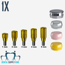 X 1 Implant Locator Abutment Flat Set Osstem Regular