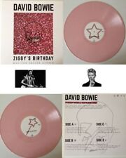 DAVID BOWIE, ZIGGY'S BIRTHDAY, RARE DOUBLE LP, PINK COLOR, EUROPE 2017, (SEALED)