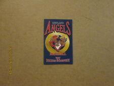 Midland Angels Vintage 1997 Baseball Pocket Schedule