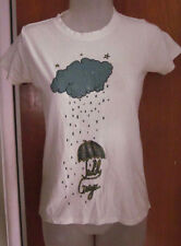 TEDDY GEIGER juniors small T shirt Tiesto singer tee One Direction umbrella