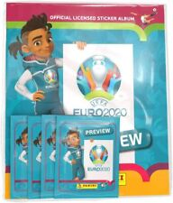 Euro 2020 Preview ~ Panini Sticker Collection ~ Starter Pack