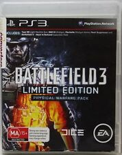 BATTLEFIELD 3 LIMITED EDITION PS3 GAME DISC EXCELLENT CONDITION REGION FREE