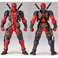 Amazing Marvel Revoltech DEADPOOL X-Men Action Figure Toy Gift New