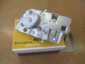 NOS HOLDEN EJ EH RHF RIGHT HAND DRIVERS FRONT DOOR LOCK MECHANISM ASSEMBLY LATCH