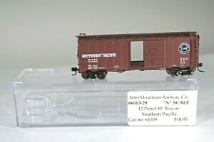 Intermountain N Scale 61059 Southern Pacific 12 Panel 40' Boxcar 66013-29