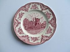 "Johnson Bros. Old Britain Castles 10"" Dinner Plate Blarney Castle England New OS"