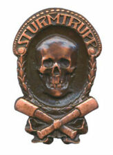 German Prussia WWI Stormtrooper Trench Warfare Blitzkrieg Death Battle Skull War