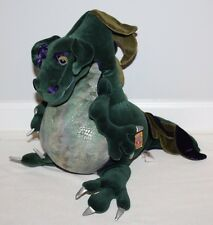 Manhattan Toy Royal Renaissance Green Dragon Plush Stuffed Animal Dinosaur 24""