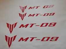 MT 09 Fairing  Stickers x4