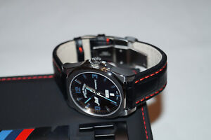 ARMAND NICOLET Automatic Men`s Women`s Modified Watch with BMW Strap /Swiss Made