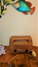New ListingAntique 1948 Wooden Rca Radio, Model 8X53, Restored