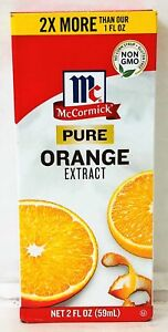 McCormick Pure Orange Extract 2 oz