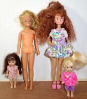Vintage Mattel Barbie's Sisters Doll Lot
