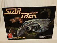 Star Trek 3 Piece Adversary Set Model Kit AMT/ERTL 1989 Aus Seller
