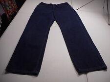 Levi's 577 Womens sz 16 Mis L (long) Dark Blue Wash Lower Rise Loose Fit Jeans