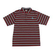 Santa Cruz Embroidered Screaming Hand Polo Shirt Black/Red/White Xxl