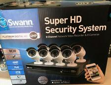 Swann Super HD Platinum Digital Security System 8 Cameras