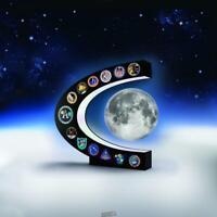 The Apollo Missions Illuminated Levitating LED Moon NASA's Apollo Program