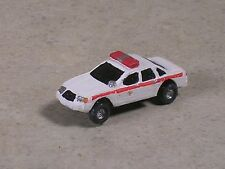 N Scale 2012 White with Red Stripe Ford Fire Chief Car