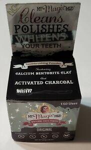 My Magic Mud Whitening Tooth Powder 1.06 Oz Original Cleans Polishes - B1B1