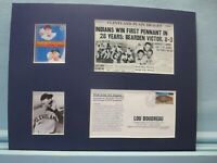 Cleveland Indians - 1948 World Series Champions & Lou Boudreau Memorial Cover