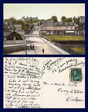 UK SCOTLAND ANGUS MONIFIETH FROM STATION 1913 SMITHVILLE ONTARIO & PERRY STATION