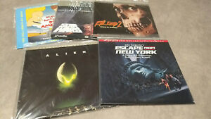 LASERDISC CLEAROUT FROM $5 - FLAT BULK SHIPPING - RARE TITLES