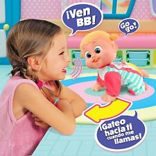 Bouncing Babies Come with mom Baniel Doll crawling when you talk about Toy Girl