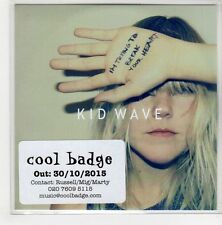 (GN683) Kid Wave, I'm Trying To Break Your Heart - 2015 DJ CD