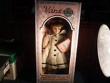 NEW NIB Vanessa Collection Porcelain Doll 1996 Series Girl Vanessa Ricardi