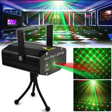 Mini Laser Projector Stage Lights LED R&G Disco Lighting Xmas Party KTV DJ Light