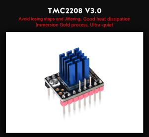 5PCS New Stepper Motor Driver with Heat Sink for 3D Printer TMC2208 V3.0 UART