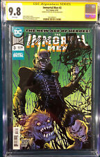 JIM LEE SIGNED ORIGINAL SKETCH ART CGC 9.8 BATMAN MAN WHO LAUGHS CBCS METAL
