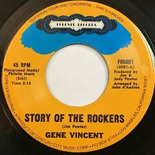 Gene Vincent: Story Of The Rockers / Pickin' Poppies 45