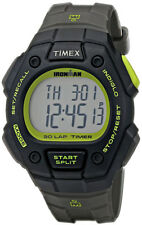 Timex Men's Ironman Classic 30m Full-Size Gray Resin Strap Watch T5K824