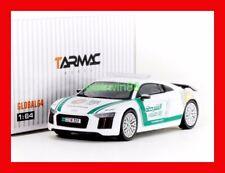SEP 2017 Tarmac Works 1:64 Global 64 Audi R8 V10 PLUS Dubai Police car