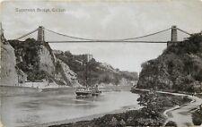 s10459 Clifton Suspension Bridge, Bristol, England postcard unposted