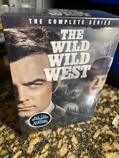 "New & unopened, complete dvd series ""The Wild Wild West"""