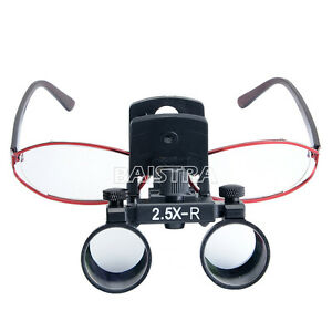 CA  2.5X Clip Type  Surgical Medical Dental Loupes Dentistry Magnifier Loupes