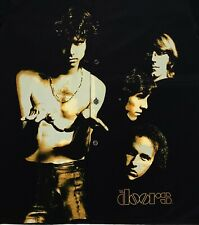 7b1eace3556 New ListingThe Doors Mens Large Button Picture Shirt Rare Vintage Jim  Morrison Design VTG
